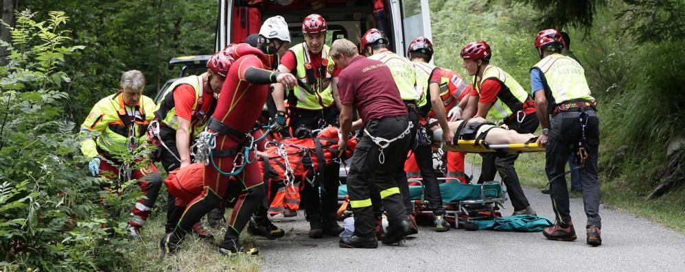 Incidente in montagna  Muore uomo di 37 anni  di Mariano Comense