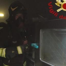 """Moltrasio, friggitrice in fiamme  Allarme al ristorante """"Fagiano"""""""