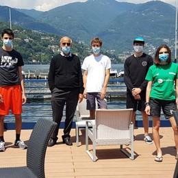 Scuola di vela Yacht Club  Open Day con 30 allievi