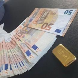 Al confine con oro e soldi Ma aveva chiesto   il reddito di cittadinanza