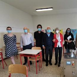Sterilizzatore portatile anti Covid  Prima prova alle scuole di Fino
