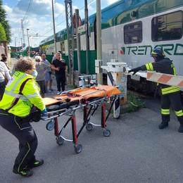 Travolta dal treno in carrozzina  Mariano, grave una disabile