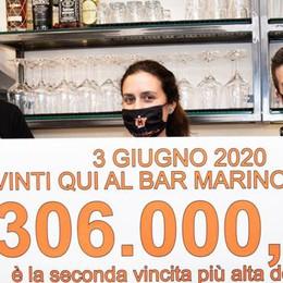 Una giocata da 300mila euro  Parte la caccia al fortunato