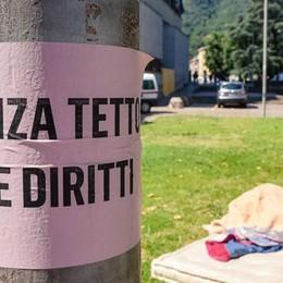 Senzatetto a San Francesco  Il questore: «Tempo scaduto»