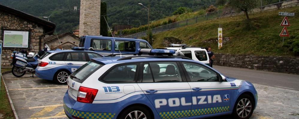 Tremezzina, il ritorno della Polstrada  Sette agenti dall'alba alla notte