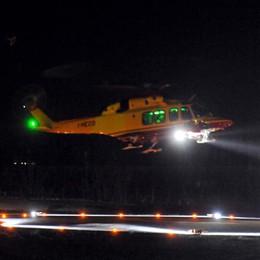 Laino e Valsolda, notte di incidenti  Paura per due motociclisti