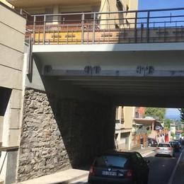 Lavori sul ponte, sorpresa a Cantù  «Siamo in anticipo: meno disagi»