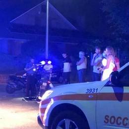 Si scontra in moto con un'auto Ragazzino ferito a Cabiate