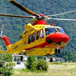 Tremezzina, fuori strada con il quad  Intervengono elicottero e soccorso alpino