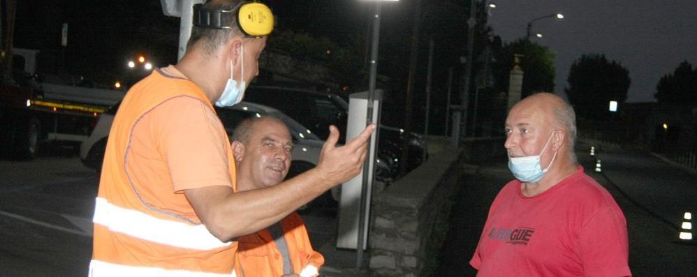 Asfalti, Griante presenta il conto all'Anas  Dossier di 13 pagine contesta i lavori