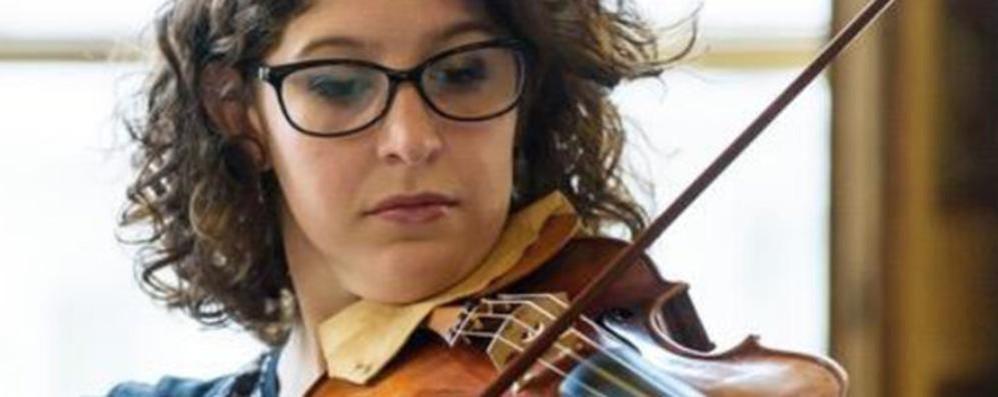 Cernobbio, arpa e violino: due talenti sul lago