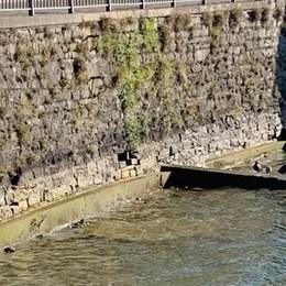 """Il lago continua a scendere  La Regione """"chiude"""" la diga"""