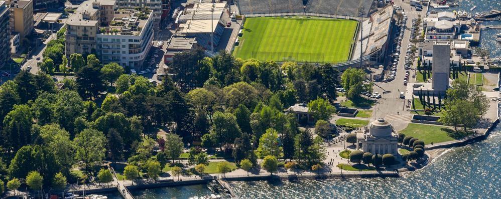 Stadio di Como, nuovo stop  La città delle opere rimaste sulla carta
