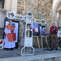 Benedetta la Croce di punta Dufour  Ricorderà anche le vittime Covid