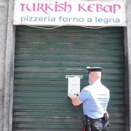 Rissa e schiamazzi a Cantù  Chiuso il Turkish Kebap
