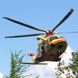 Tremezzina, turista colto da infarto  Portato in elicottero a Bergamo