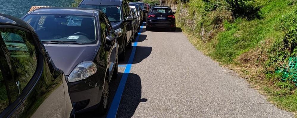 Caos ai parcheggi   della Greenway  Ora arriva il ticket