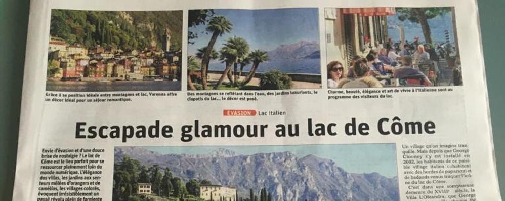 Il giornale francese   «Andate in vacanza  sul lago di Como»