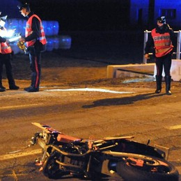 Porlezza, tragedia con  lo scooter  Giardiniere muore vicino alla galleria