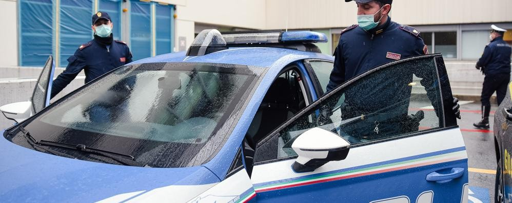 Dongo, la Polizia chiude  il centro scommesse