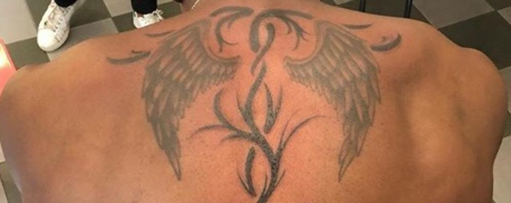 Ali, anche nel tatuaggio  Chituru pronto al decollo