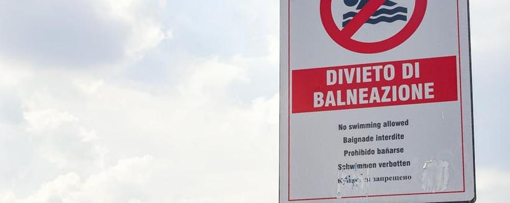 Como; la beffa di villa Geno  Lago balneabile ma tuffi vietati