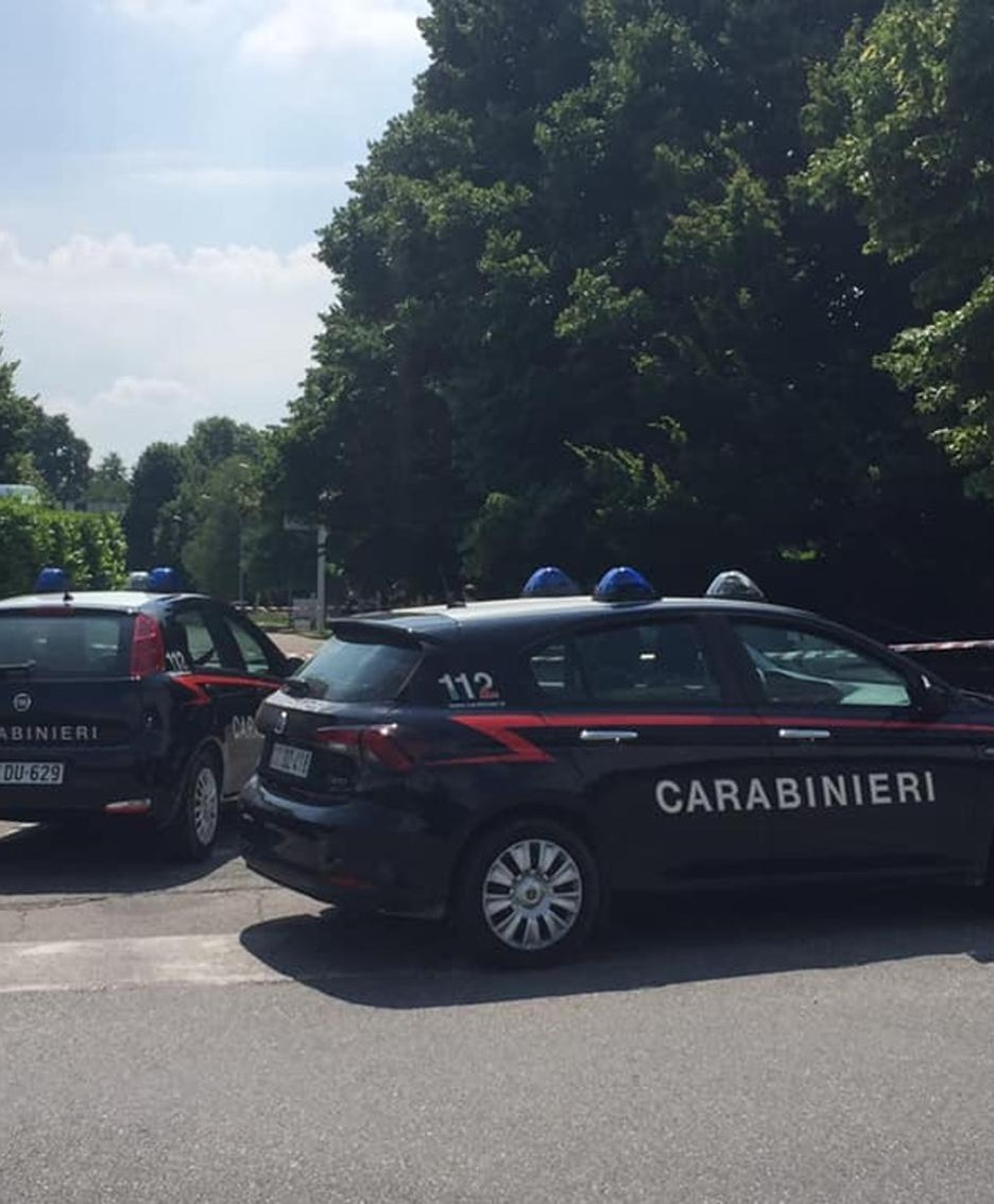 I carabinieri hanno chiuso le strade