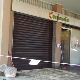 Olio contro il negozio appena verniciato  Un duplice e misterioso raid vandalico