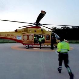 Erba, gravissimo nell'incidente  Valbrona, paura per motociclisti   Video/1 Video/2
