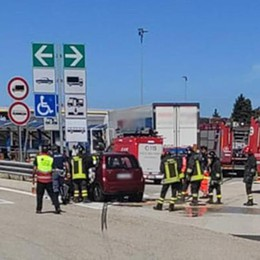 Incidente in autostrada  Morti due coniugi di Como