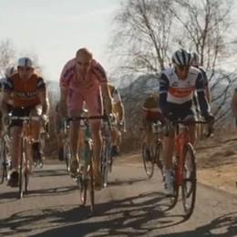 """Lo spot per il """"Giro""""  nato all'Alpe Grande   Ecco dove guardarlo"""
