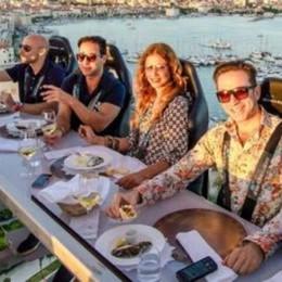 Metti una sera a cena a 50 metri d'altezza  Debutto a Dervio il 9 settembre