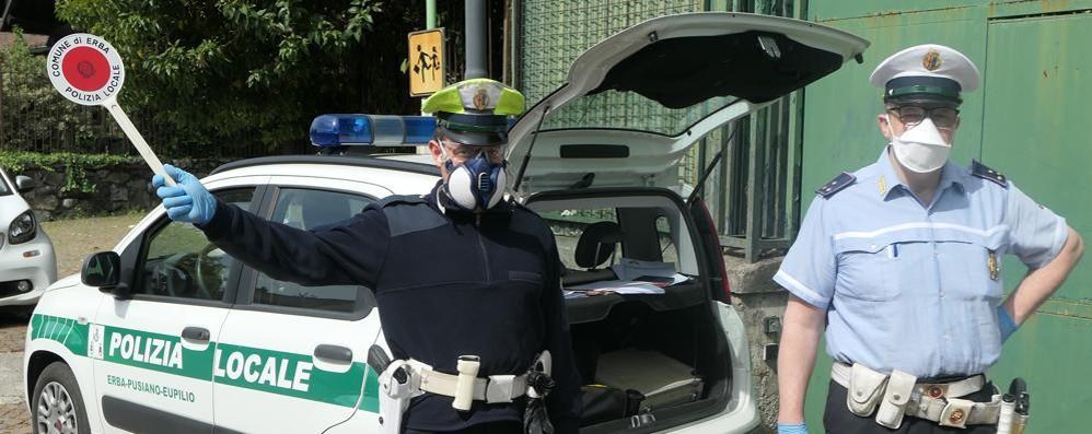 Pusiano, atti osceni al parco  Giovane fermato dalla polizia locale