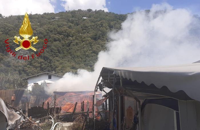 I danni provocati dalle fiamme