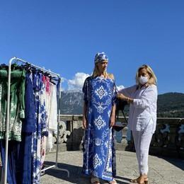 Tremezzina wow  Nel parco a lago  il fashion shooting