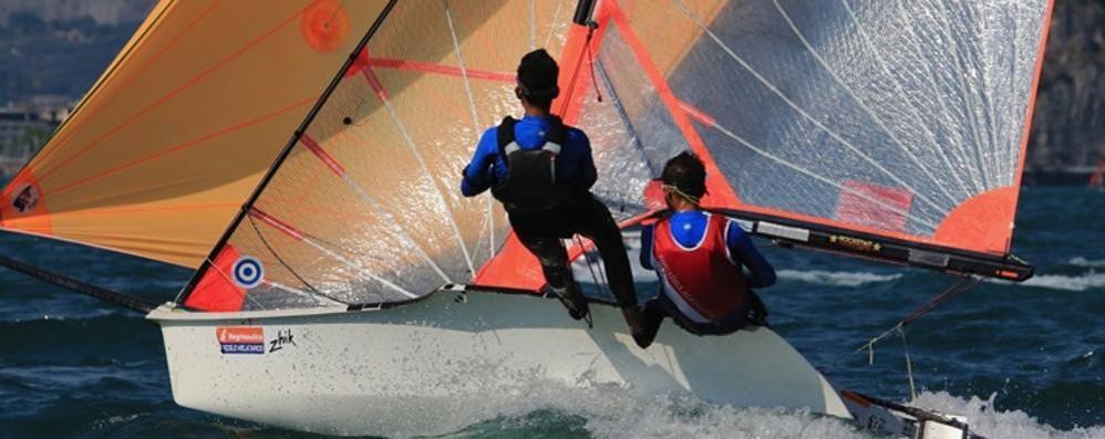 Yacht Como ok a Gravedona  Con i fratelli Veronelli