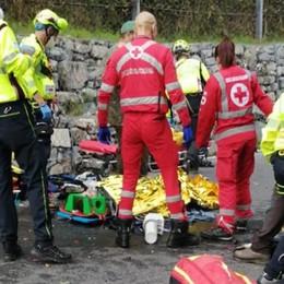 Lanzo, scontro tra moto  Due persone in ospedale