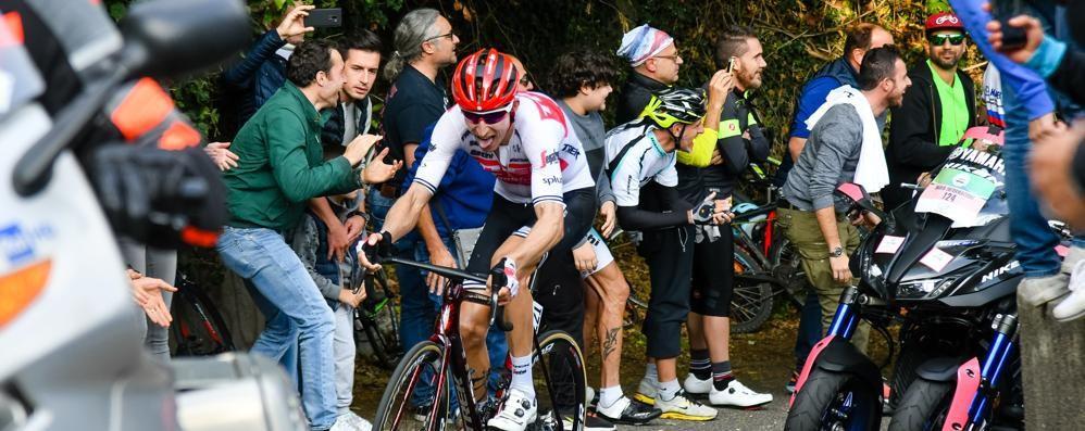Arriva il Lombardia, ma niente pubblico  Vietato fermarsi ad applaudire i ciclisti