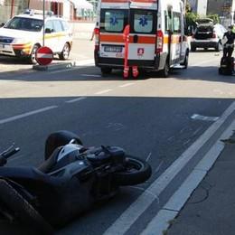 Incidente tra scooter e auto Ragazzo gravissimo a Olgiate