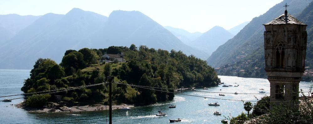 Isola Comacina, canale pericoloso  Sarà vietato il passaggio
