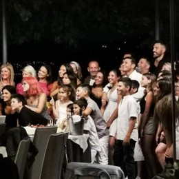 Torno, che festa per Zanetti e Cordoba  E con Samuel si respira aria di Triplete