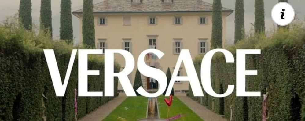 """Tremezzina, Versace torna sul lago  A Villa Balbiano il """"corto"""" della collezione"""