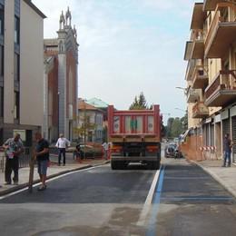 Cantù, il ponte supera il test  Riaperto corso Unità d'Italia