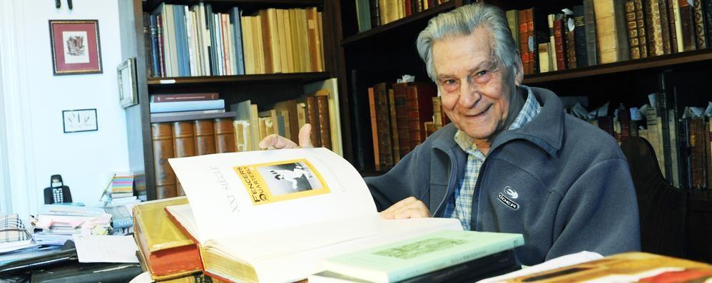 Carimate, l'eredità di Spallino  I suoi libri donati alla biblioteca