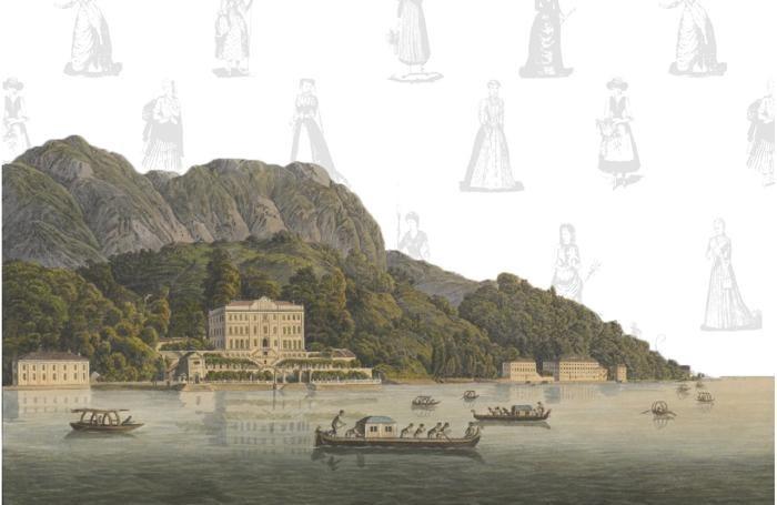 Il libro è illustrato con stampe d'epoca dei luoghi descritti da Mary Shelley:questa è l'immagine di copertina