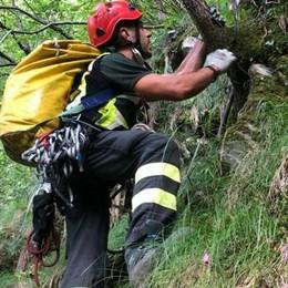 Nesso, due escursionisti francesi dispersi  Trovati sotto choc nella scarpata e salvati