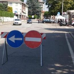 Via Milano, Olgiate cambia idea  «Più sicuro lasciare il senso unico»