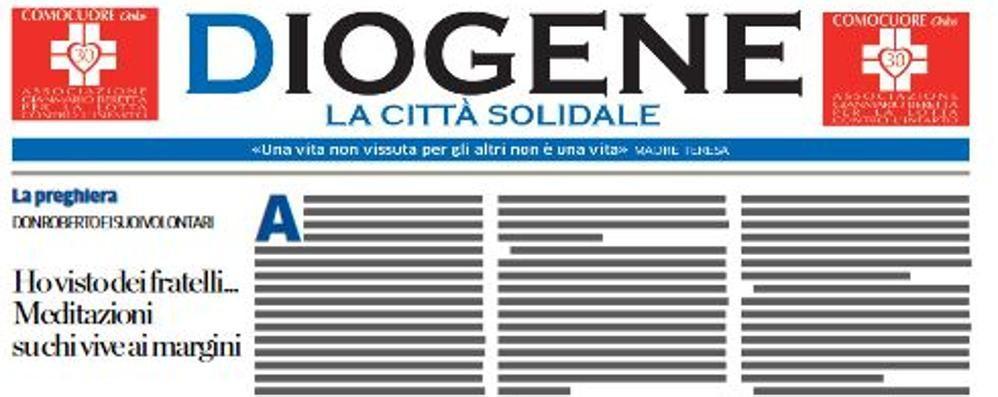 """La tragedia di don Roberto  Numero speciale di """"Diogene"""""""