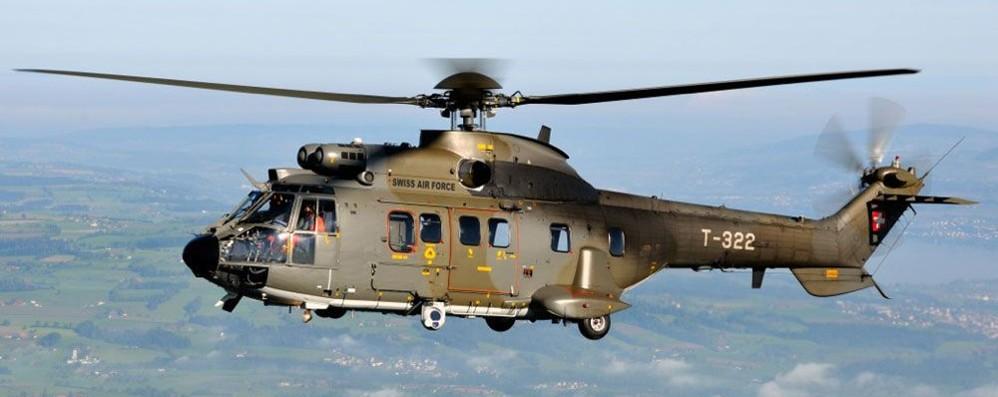 Punta laser contro elicottero  Ticino, un italiano nei guai
