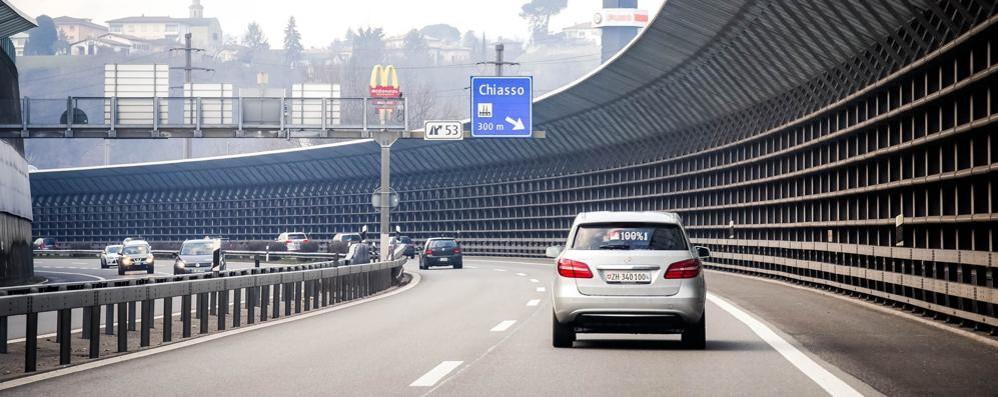 Radar svizzeri,  crolla l'incasso  «Colpa dei frontalieri»